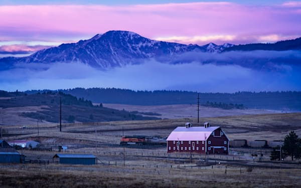 The Red Barn Express Photography Art | Jon Blake Photography