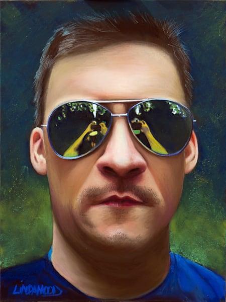 Selfie Art | Lindamood Art