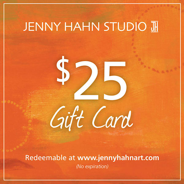 $25 gift card from Jenny Hahn Studio