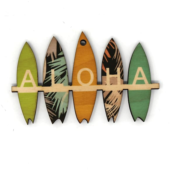 Aloha Surfboards Ornament