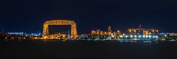 Duluth Lift Bridge Dawn - Duluth Photos | William Drew