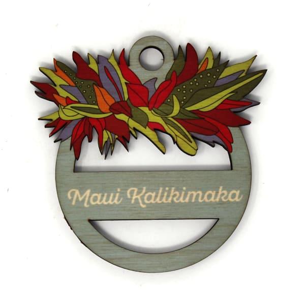 Haku Maui Kalikimaka Ornament