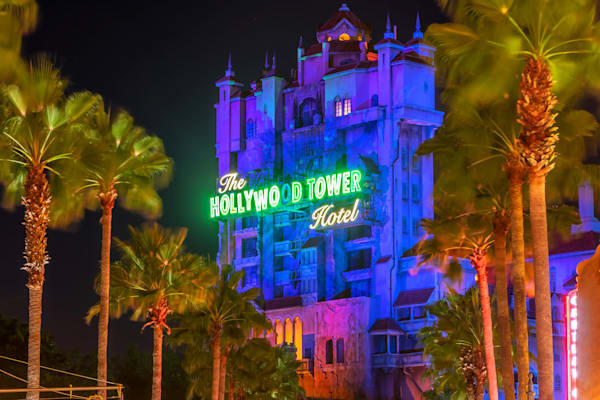 Tower of Terror at Hollywood Studios - Disney Art  | William Drew
