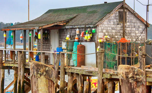 Cape Porpoise Fishing Shack copy