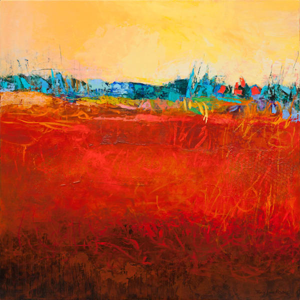 Modern Southwestern Abstract Landscape Paintings