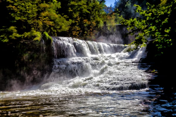 Foaming Falls 2