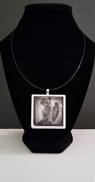 Comfort Angel 5 Necklace Photography Art | LYNDA TYGART  ART PHOTOGRAPHS