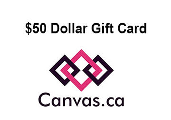 Canvas.ca Gift CArds