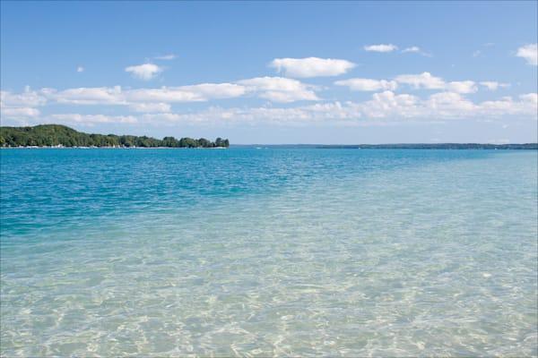 Sandbar, Torch Lake