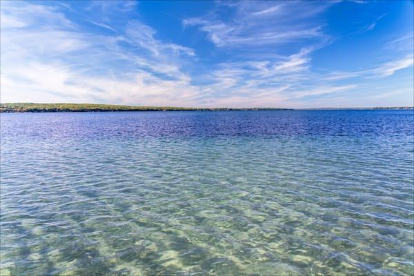 Higgins Lake Sandbar