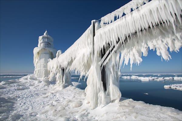 St. Joseph Lighthouse in Winter