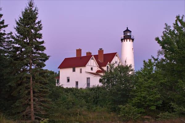 Beautiful fine art photos of Lake Superior lighthouses