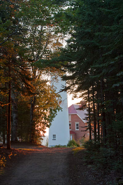 Pathway to the Au Sable Point Lighthouse