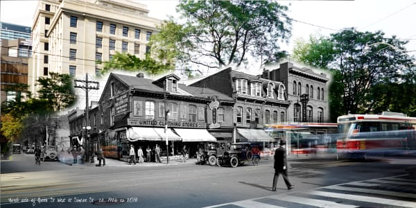 Past Present - Northeast Queen & Simcoe