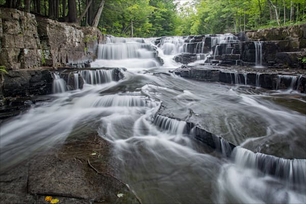 Fine art photos of beautiful Baraga County waterfalls