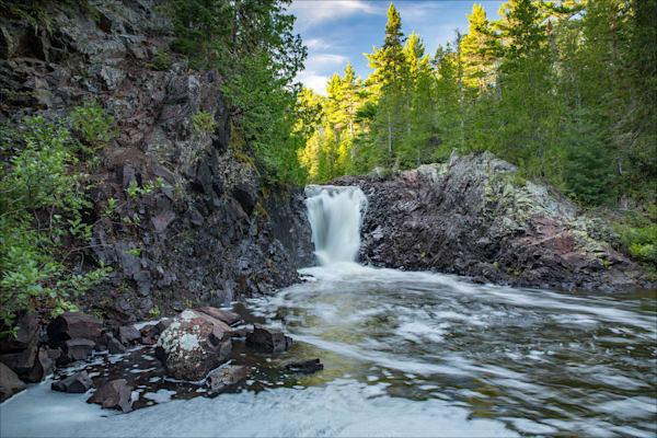 Fine art photos of beautiful Keweenaw County waterfalls