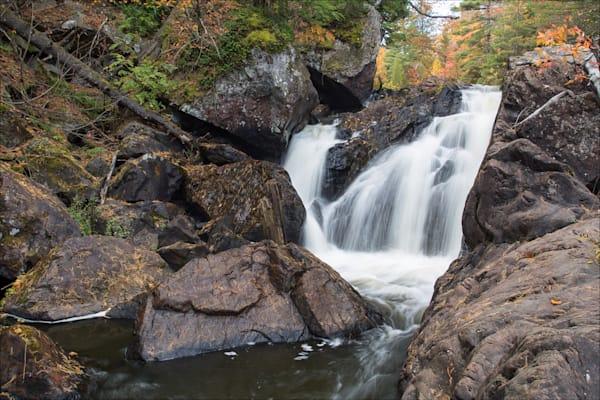 McClure Dam Falls