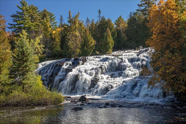 Fine art photos of beautiful Ontonagon County waterfalls