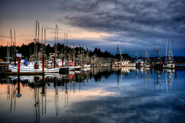 Newport Boats, Yaquina Bay, Newport Oregon, Fishing Boats, Pacific Northwest