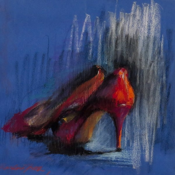 Available Now Only As A Print   Red Shoes 1 Art | Bkern Fine Art