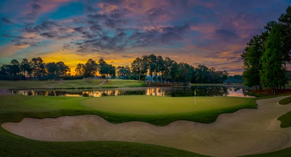 Atlanta Athletic Club's Beautiful 17th Hole