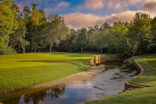 Rae's Creek Protects Augusta Country Club's 8th Hole