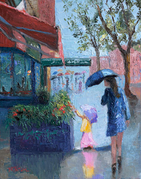 Flowers In Manhattan Ii  Art | Pamela Ramey Tatum Fine Art