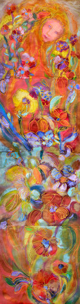 Angel of Joy Fine Art Print on Canvas by Dorothy Fagan