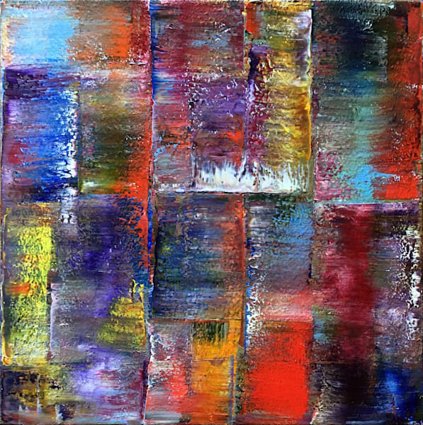 Reflections large PMS abstract painting