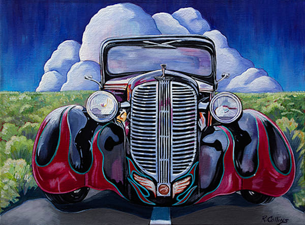 Sold  Dodge Ram Art | rosecollinsartist