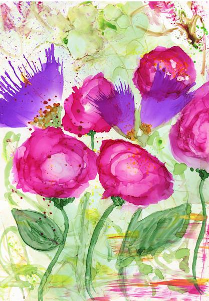 Rose Garden 11x14 Art   HFA print gallery