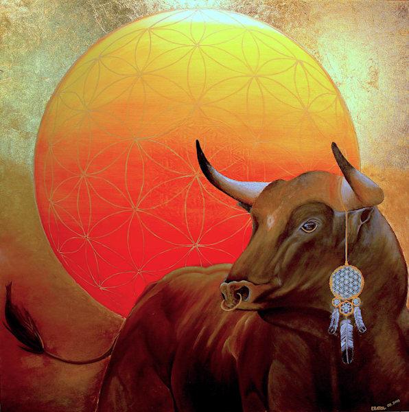 Spanish Bull art: Shop Prints /Errymil Batol Art