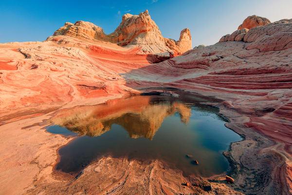 desert southwest reflection