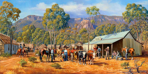 The Main Street of Mount Britton 1882