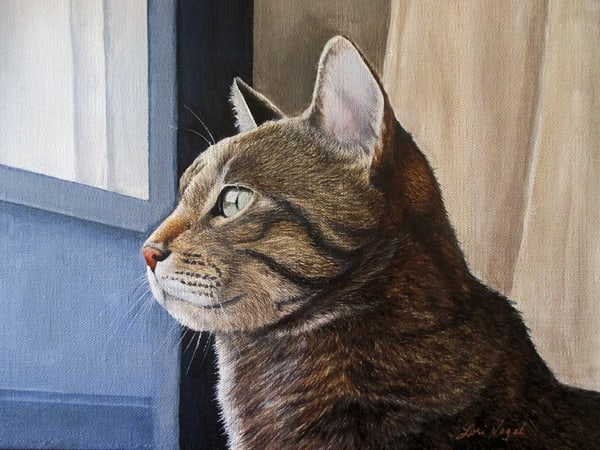 Through The Blue Door Art | Lori Vogel Studio