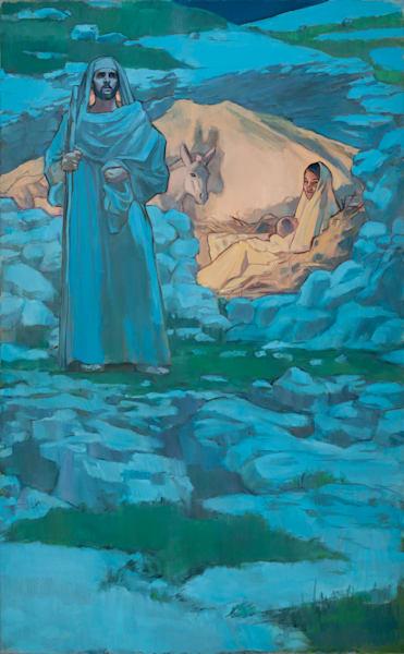 Nativity - Center Panel