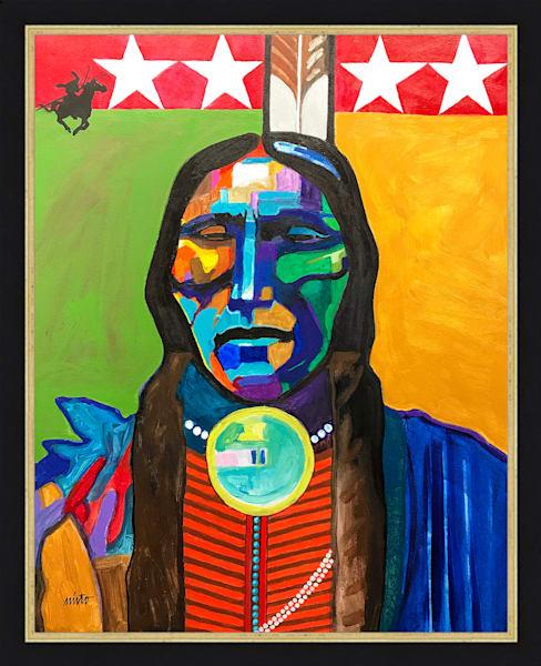 Quanah Parker | John Nieto Original Painting