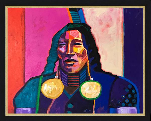 Spotted Horse | John Nieto Original Painting