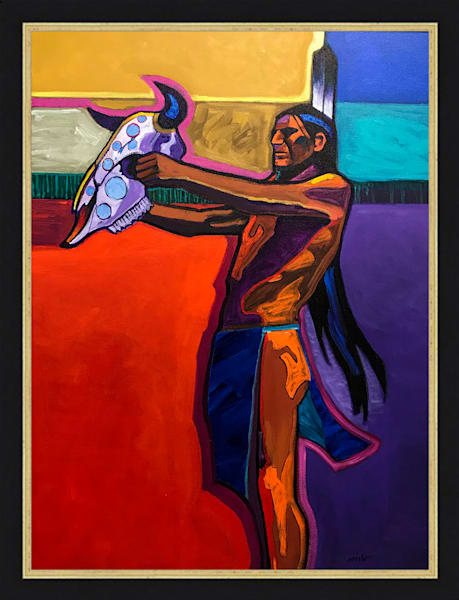 Prayer for the Return of the Buffalo | John Nieto Original Painting