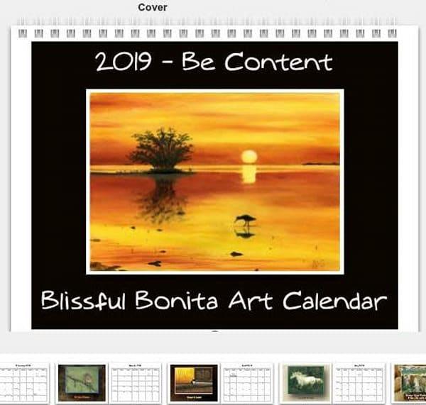 2019 Blissful Bonita Art Calendar
