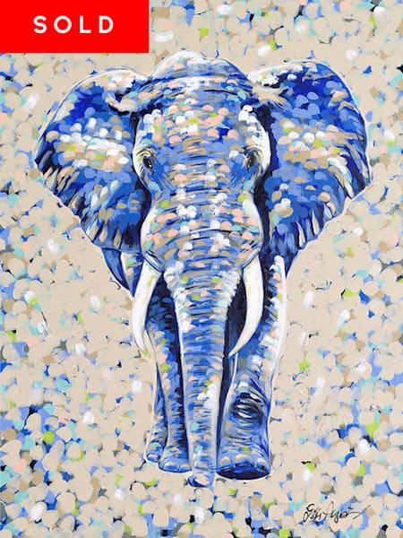Elephant Original Acrylic Painting