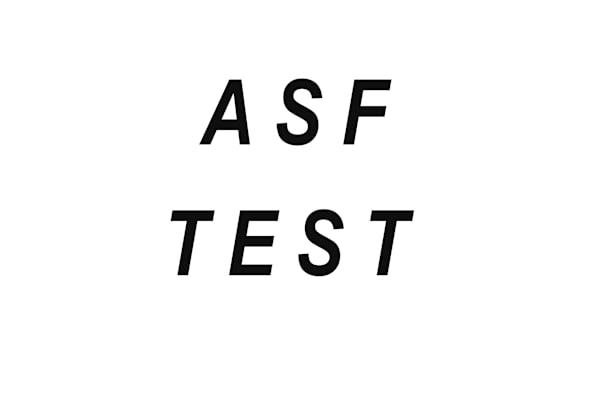 ASF TEST (PLEASE DO NOT REMOVE)