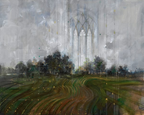Field Hymn; Heroic View Art | Freiman Stoltzfus Gallery