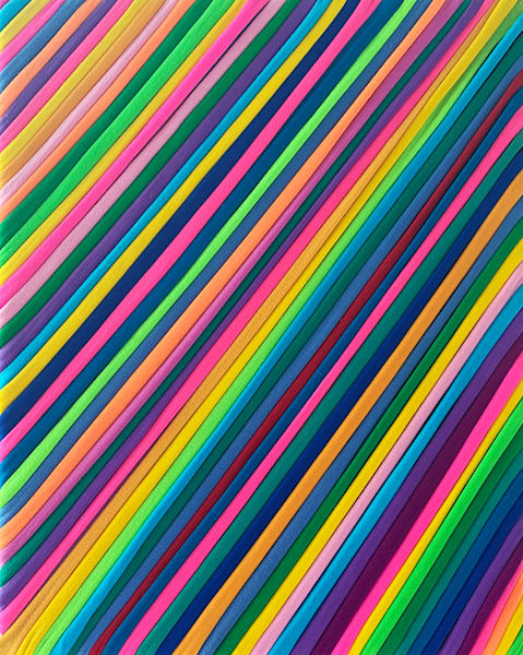rainbow, spectrum, textile, fabric, wall art