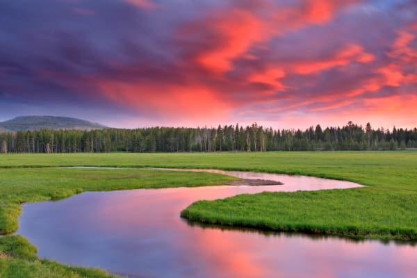 Yellowstone Landscape Photography Prints | Robbie George