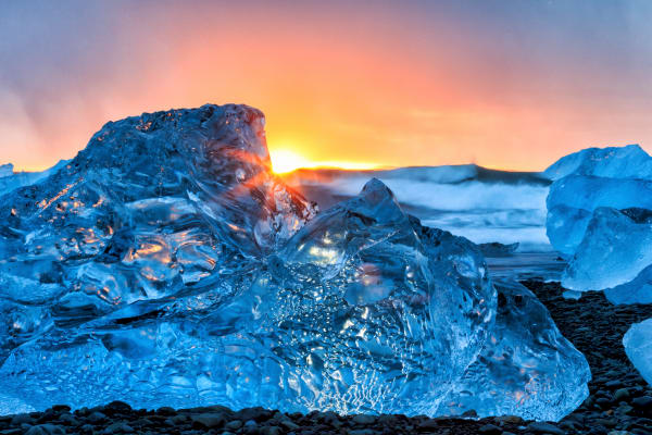 Glacier Lagoon Iceland | Robbie George Photography