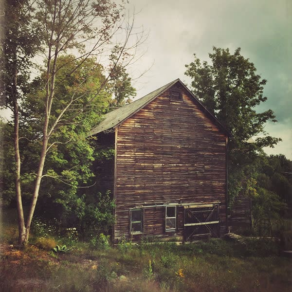 Old Barn Photo Tile - for sale as 4x4 and 6x6-inch ceramic tiles