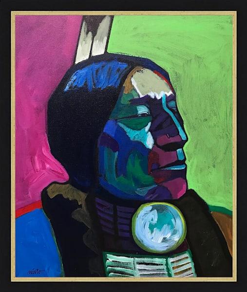 Wolf Robe | John Nieto Original Painting