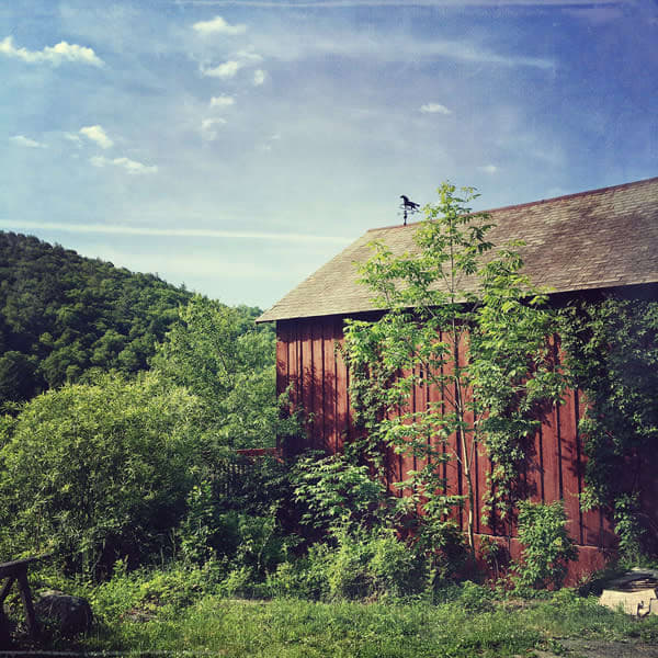 Weather Vane Barn - for sale as 4x4 and 6x6-inch ceramic photo tiles