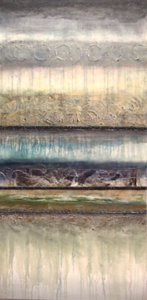 Sand Stripe  (Original)  Sold Art | Laurie Fields Studio
